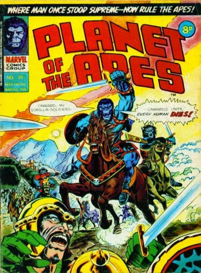 Marvel UK, Planet of the Apes #20