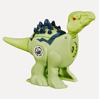 JUGUETES - JURASSIC WORLD : Brawlasaurs Stegosaurus | Dinosaurio | Figura - Muñeco Toys | Producto Oficial Película 2015 | Hasbro B1144 A partir de 4 años