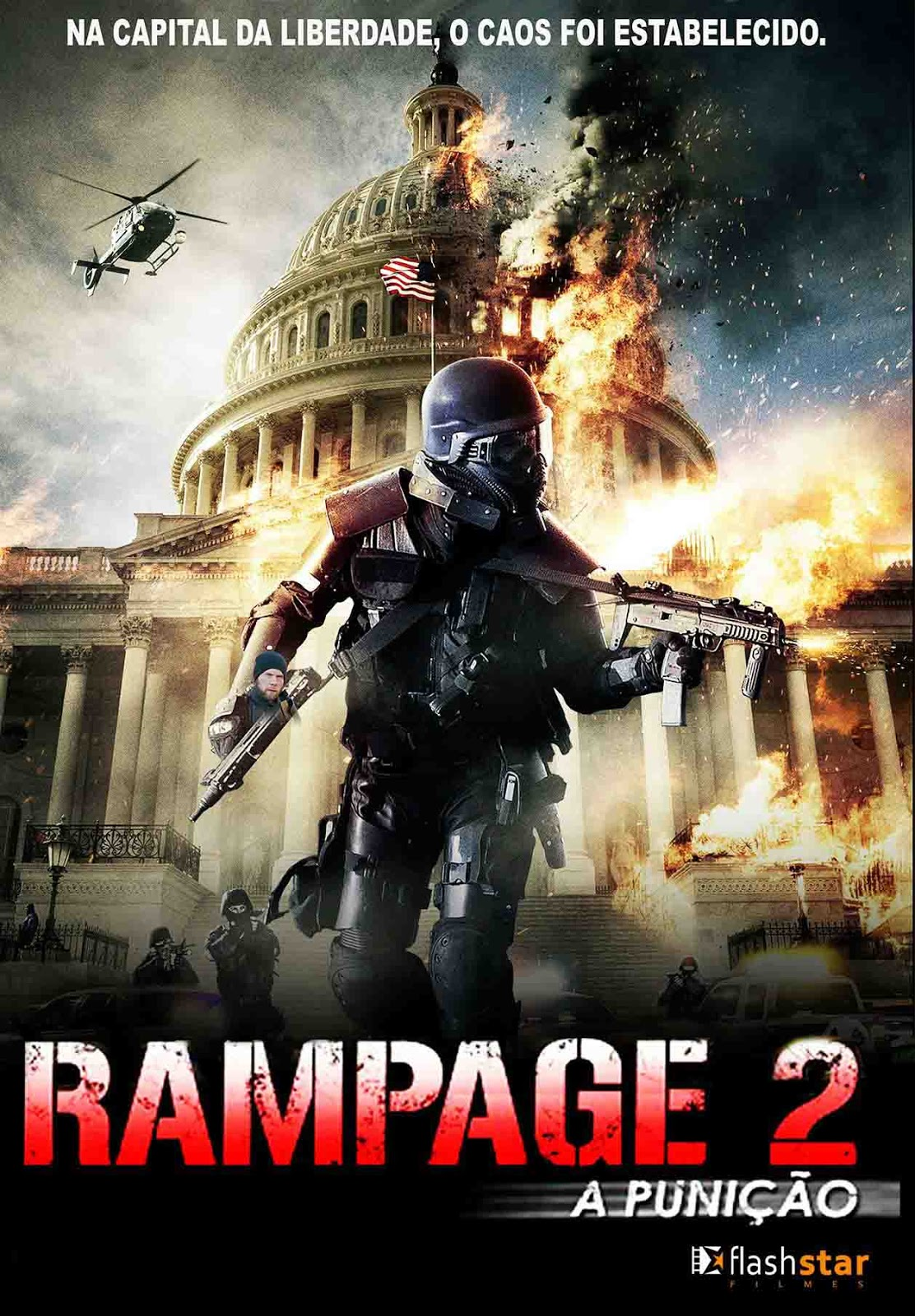 Rampage 2: A Punição Torrent - Blu-ray Rip 720p e 1080p Dublado (2015)