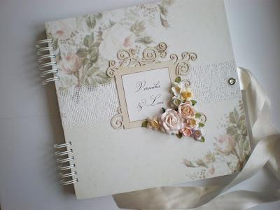 Romantický svadobný album / Romantic wedding album