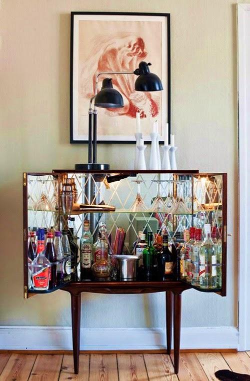 Mueble bar Mid century