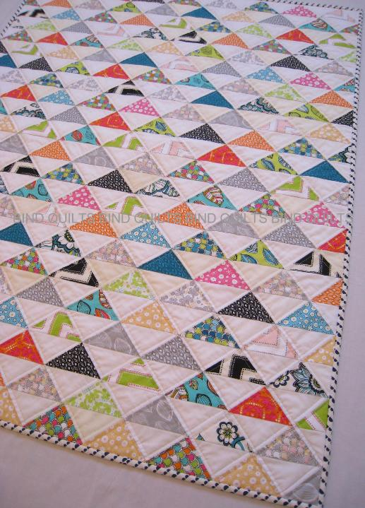 Set on point quilt