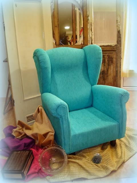 El desv n de los trastucos cambiar el tapizado a un - Tapizar sillon paso a paso ...