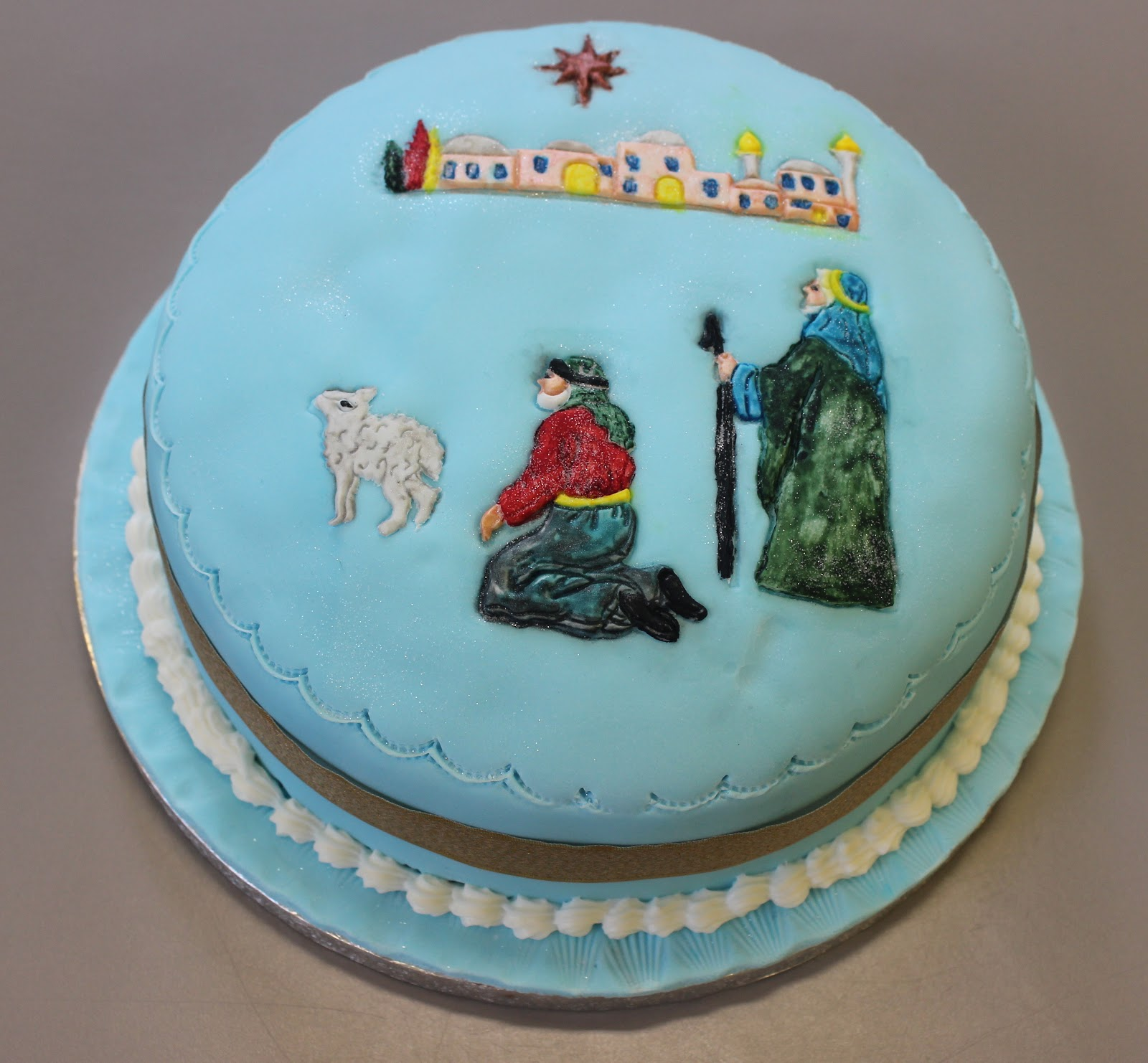 Flour Power Cake Journey: Basic cake decorating with a ...