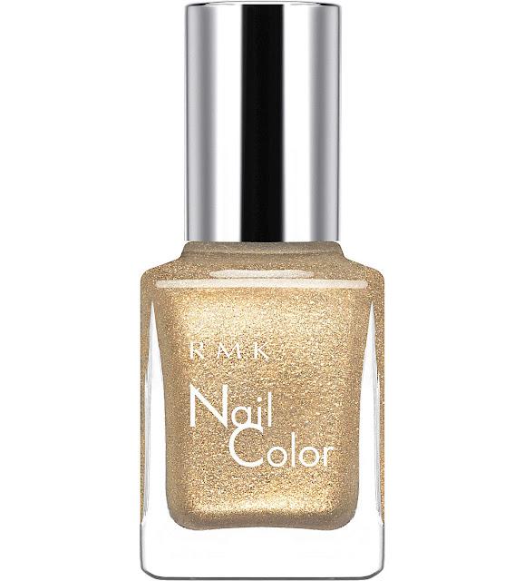 rmk gold nail polish, gold nail polish selfridges,