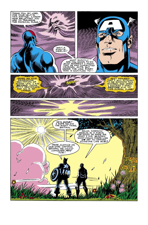 Captain America (1968) Issue #306 #234 - English 23