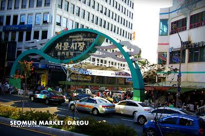 80 Hari di Korea Hari 10 Seomun Market