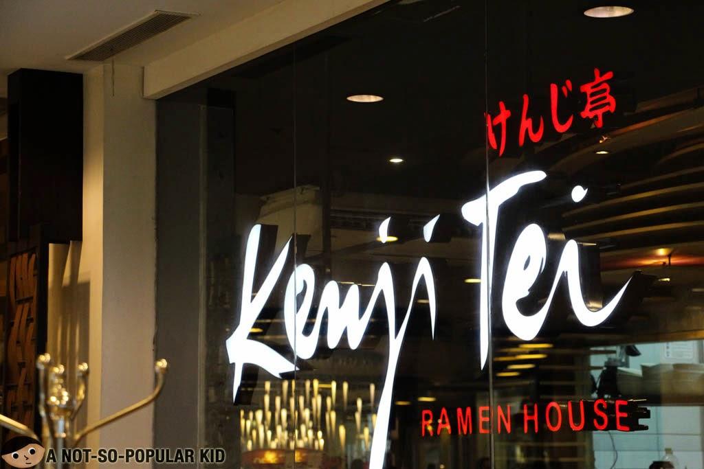 Kenji Tei Ramen House in Greenbelt 5, Makati