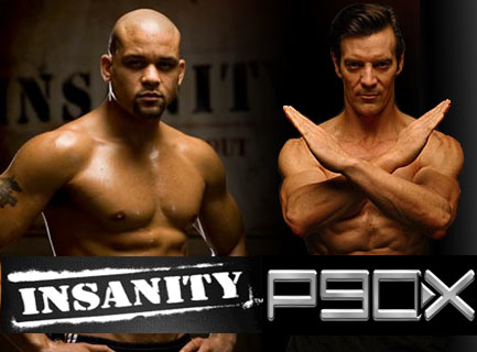 p90x vs insanity I've had several people ask me recently which is better – p90x or insanity i  believe both programs are awesome ways to get in shape with the.
