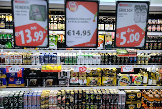 The cheapness of alcohol in Ireland has become a huge problem