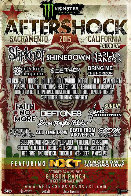 Aftershock LIneup