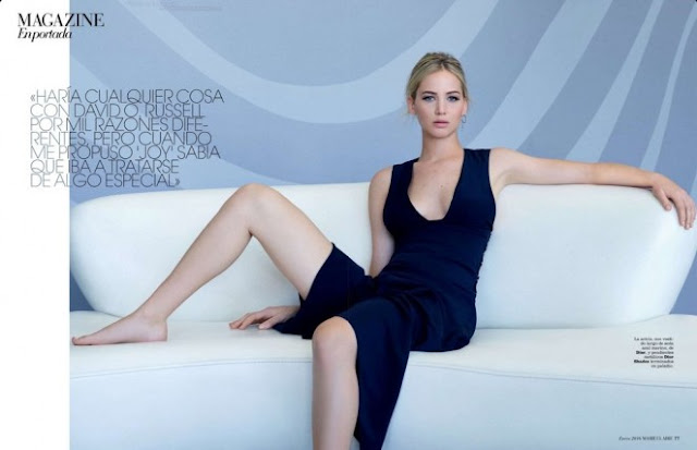 Jennifer Lawrence – L'Officiel China Magazine