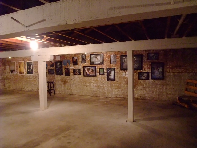 art taco basement gallery photo show
