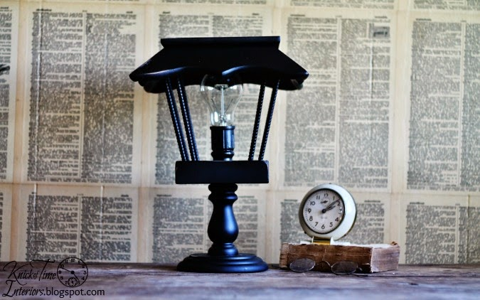 Vintage Repurposed Lamps & Lights via http://knickoftimeinteriors.blogspot.com/