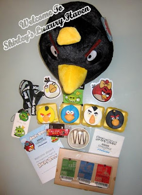 angry birds asian challenge goodie bag