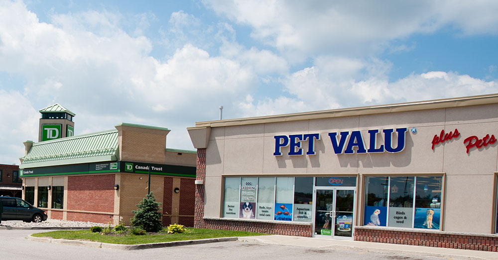 The PetValue shop at Westridge.