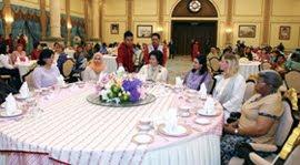 Majlis Minum Petang Bersama Isteri-isteri Para Duta Besar dan Pesuruhjaya Tinggi Asing