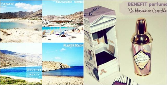 Instagram @lelazivanovic. Ios beaches video. Benefit So hooked on Carmella perfume.