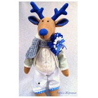 олени игрушки ручная работа blogger crafts handmade blogs