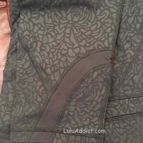 lululemon petal camo inspire crops black