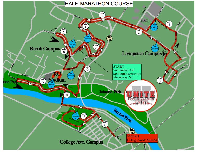 Asphalt Kitchen: Race Recap: Rutgers UNITE Half Marathon 2015
