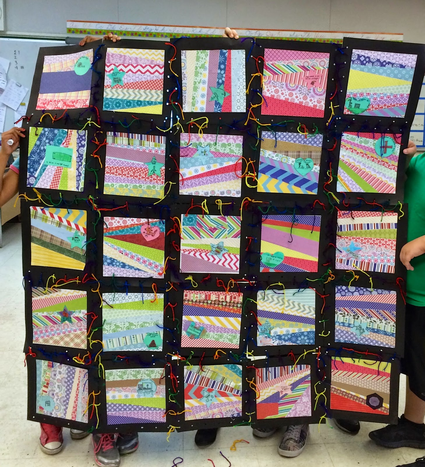 Kathy's AngelNik Designs & Art Project Ideas: Unconventional Wish ... : classroom quilt ideas - Adamdwight.com