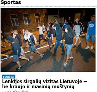 Po meczu Lecha z Žalgirisem