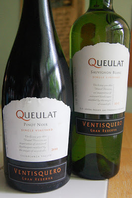 Chilean winery Ventisquero Presents Queulat Pinot Noir and Sauvignon Blanc