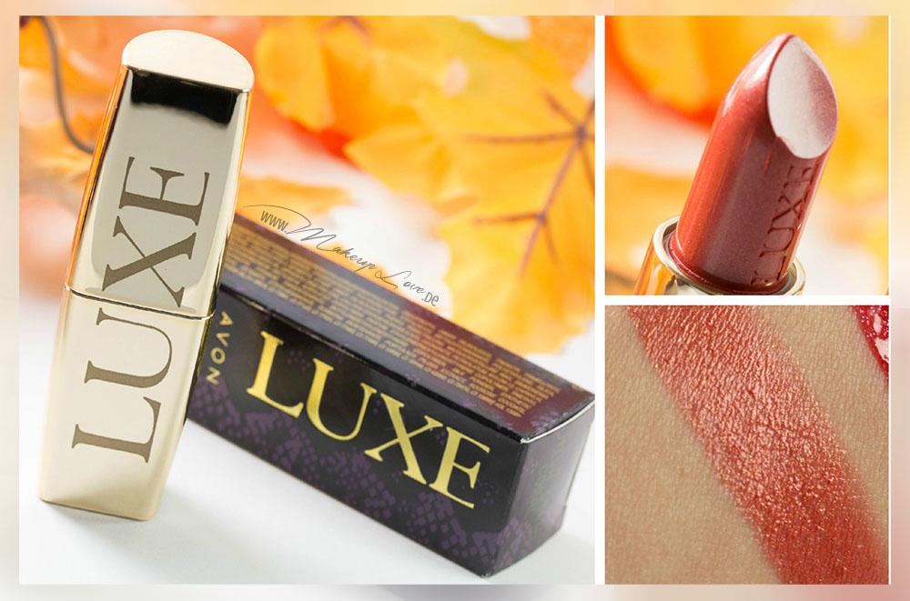 avon luxe lippenstift glam poppy