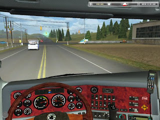 + MOD BUS INDONESIA 18 wheels of steel haulin bus mod free download