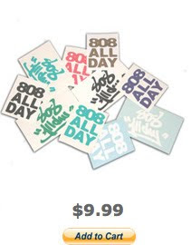 808ALLDAY CELL PHONE STICKER PACK