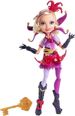 TOYS : JUGUETES - EVER AFTER HIGH  Courtly Jester | Muñeca - doll | Daughter of The Joker Card  Producto Oficial 2015 | Mattel | A partir de 6 años  Comprar en Amazon España & buy Amazon USA