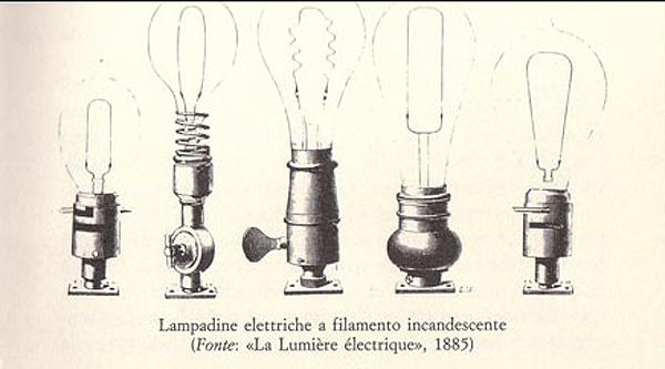 prima lampadina : Storie di Scienza: La lampada a incandescenza