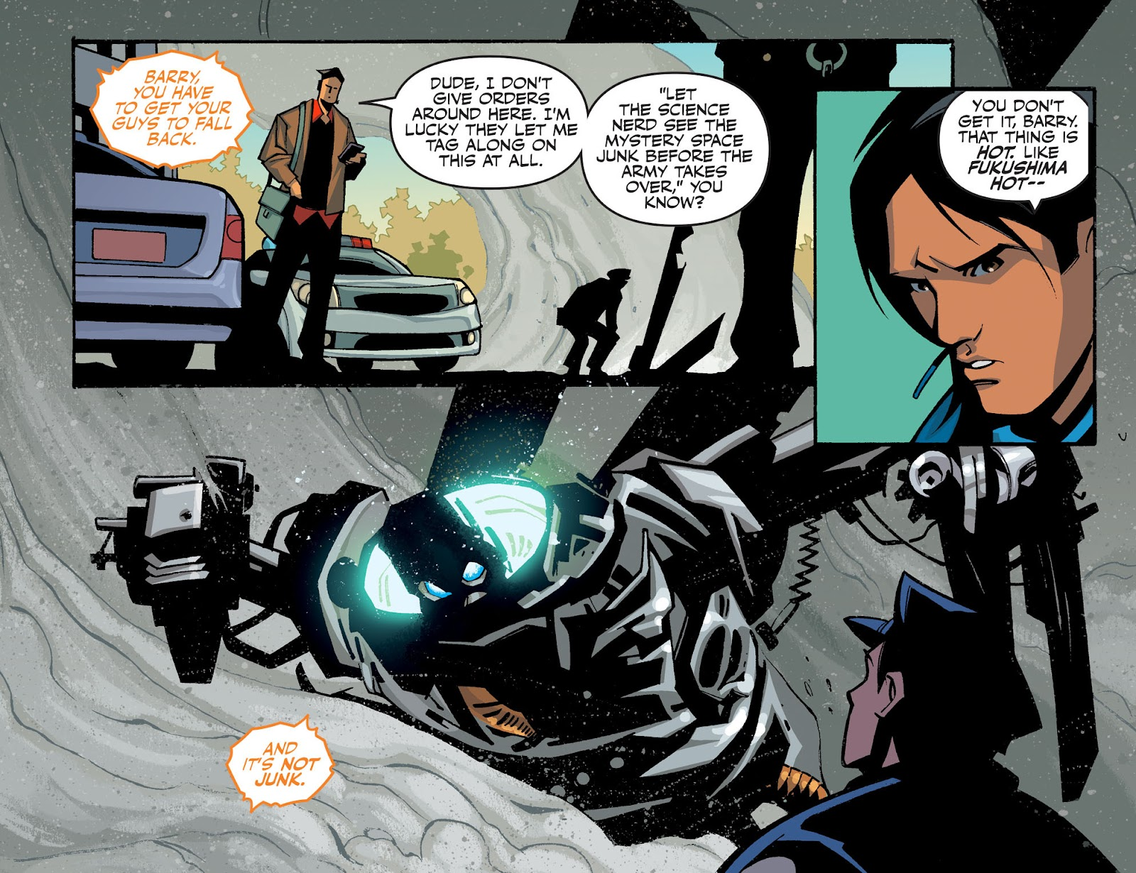 The Flash: Season Zero [I] Issue #19 #19 - English 7