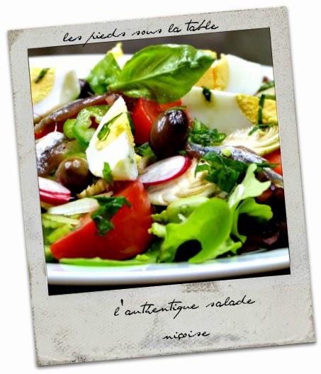 l'authentique salade niçoise  un grand classique de l'été