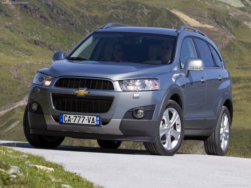 Cars  2012 Chevrolet Captiva