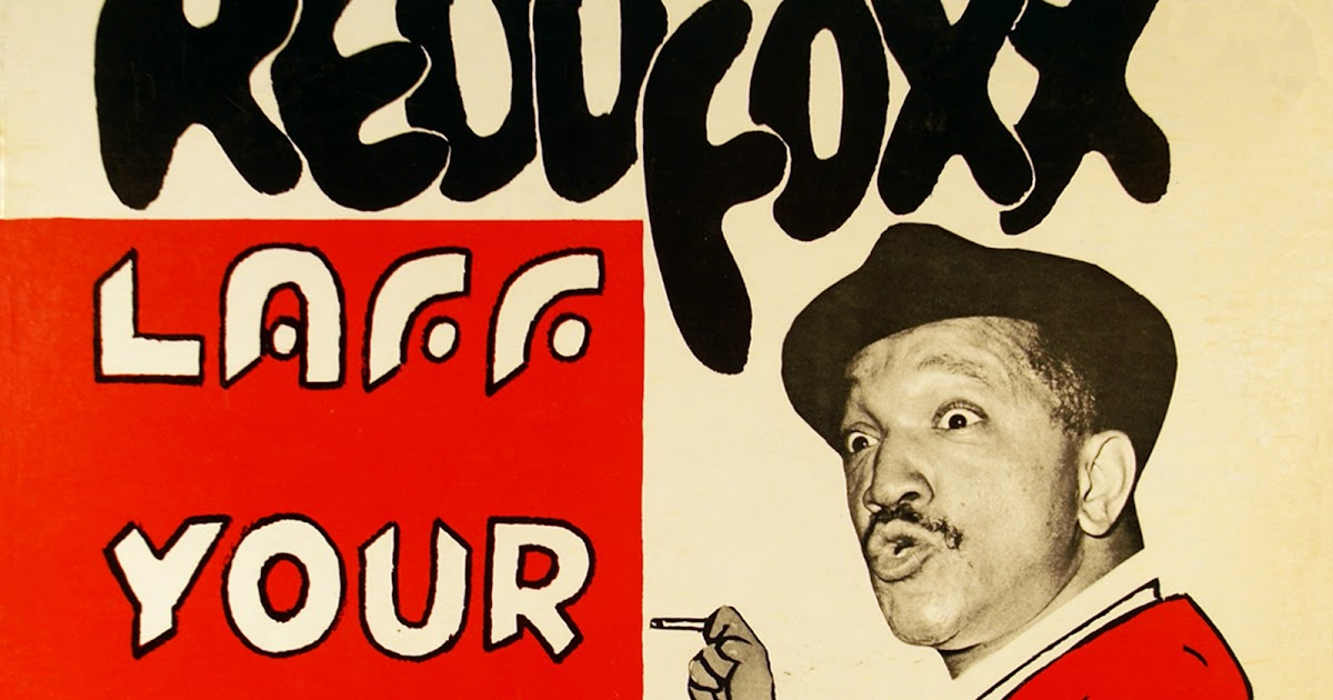 Vintage Stand Up Comedy Redd Foxx Laff Your Head Off 1965