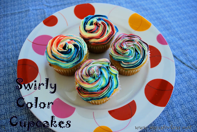 4th of July Desserts, #cupcakes, #food, #recipe