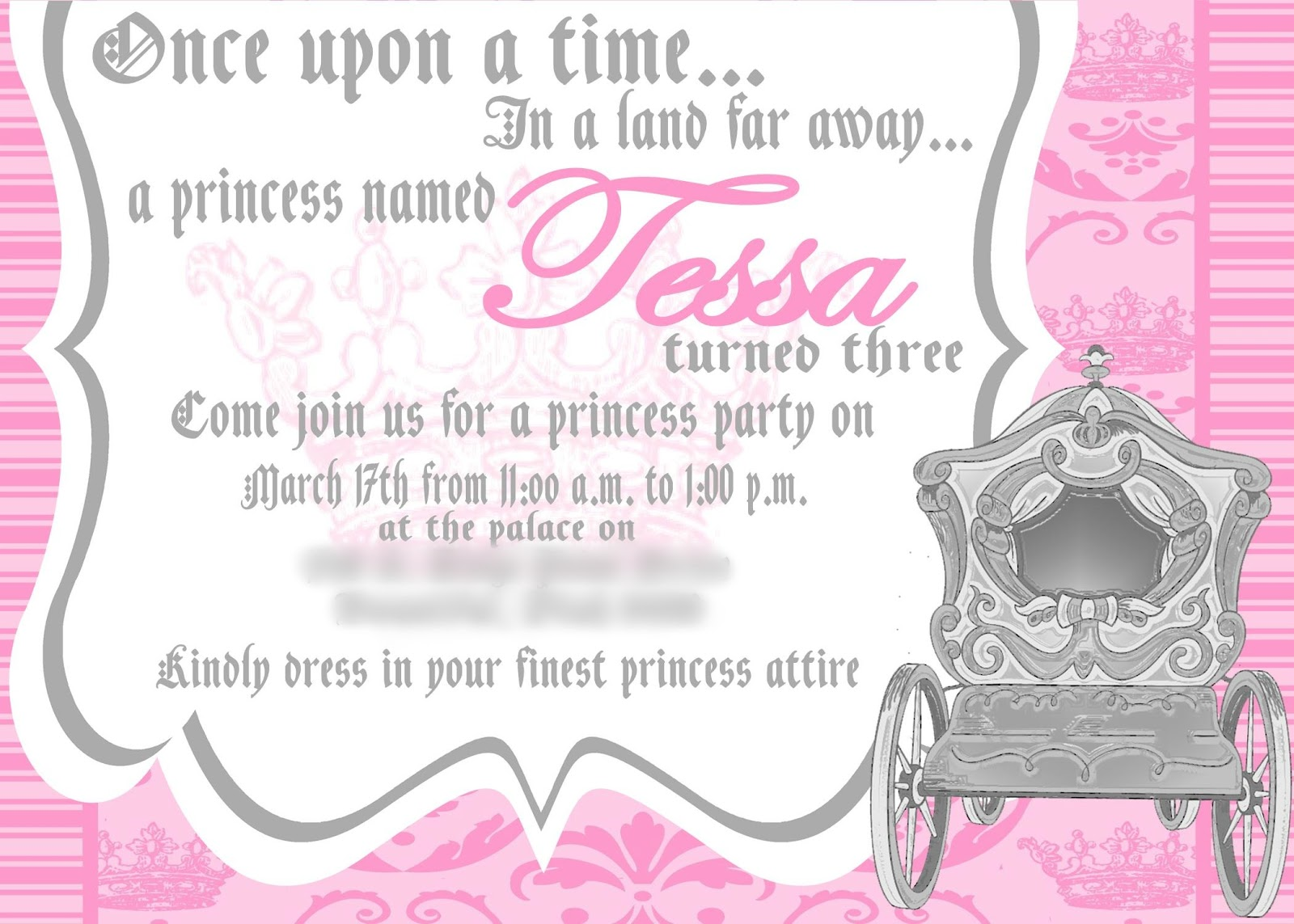 Princess Party Invitation Wording Gallery - Party Invitations Ideas