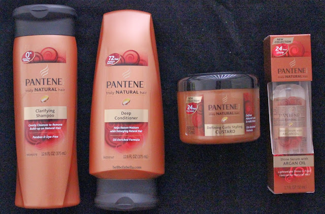 Pantene Truly Natural Hair Line