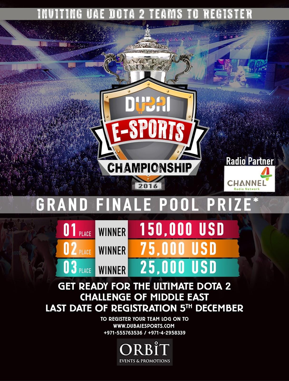 dubai e sports championship for dota2