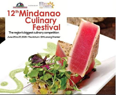 Mindanao Culinary Festival 2015 with Philippine Culinary Cup (PCC) at SM Lanang Premiere (Davao Region Philippines)