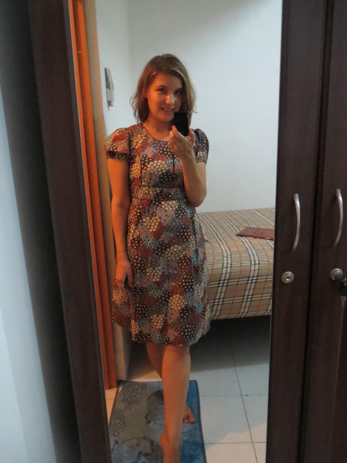 короткое платье с закрытым верхом