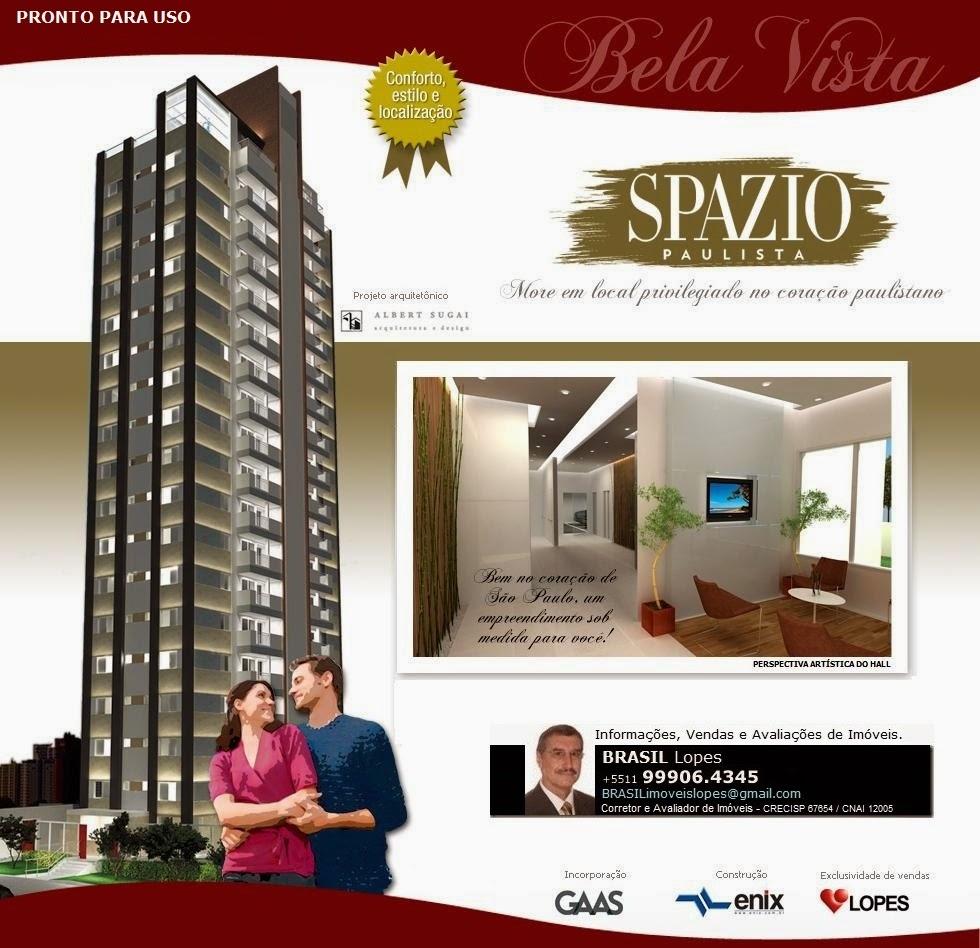 SPAZIO PAULISTA Apartamentos na Bela Vista-S.Paulo