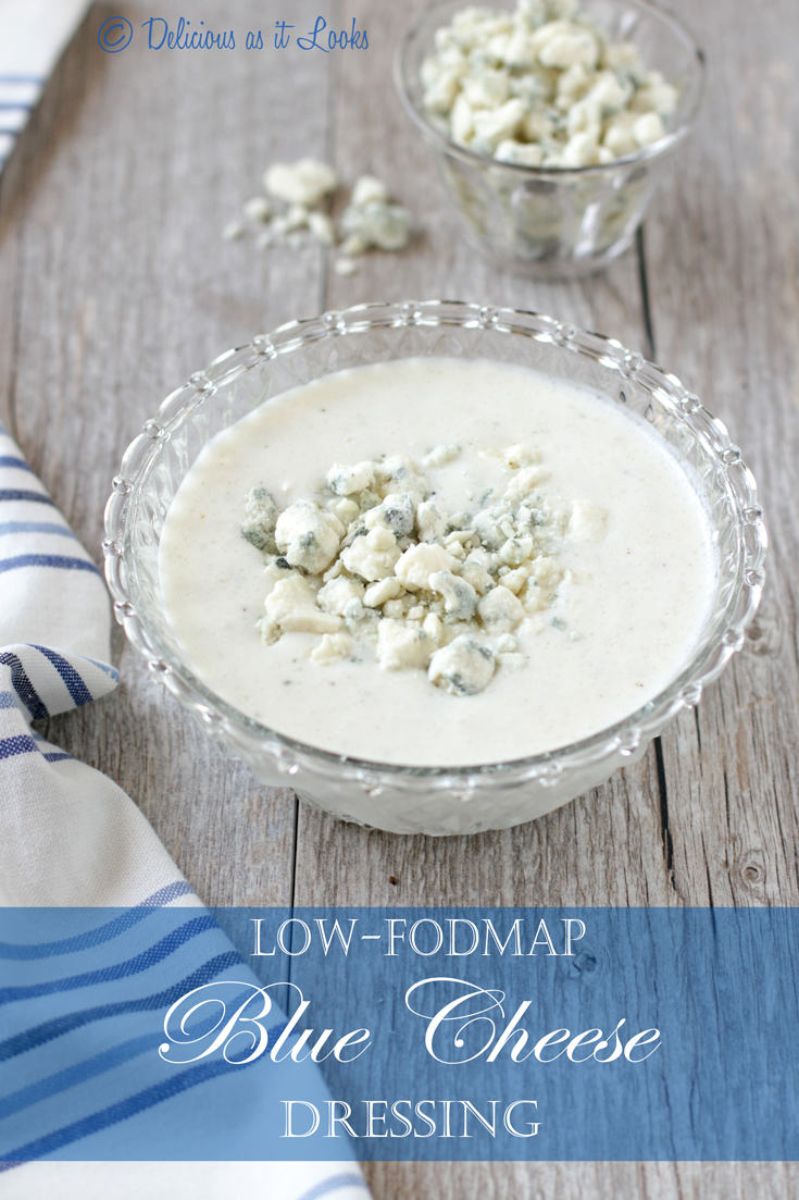 Delicious as it Looks: Low-FODMAP Creamy Blue Cheese ...