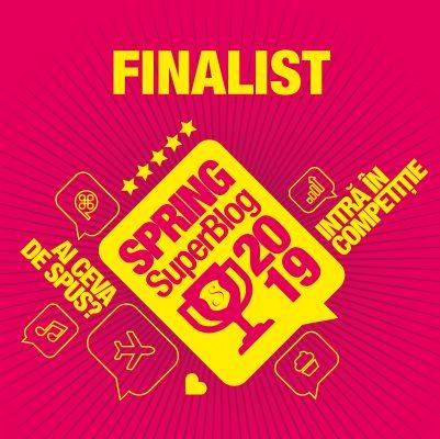 Finalist SuperBlog Spring 2019