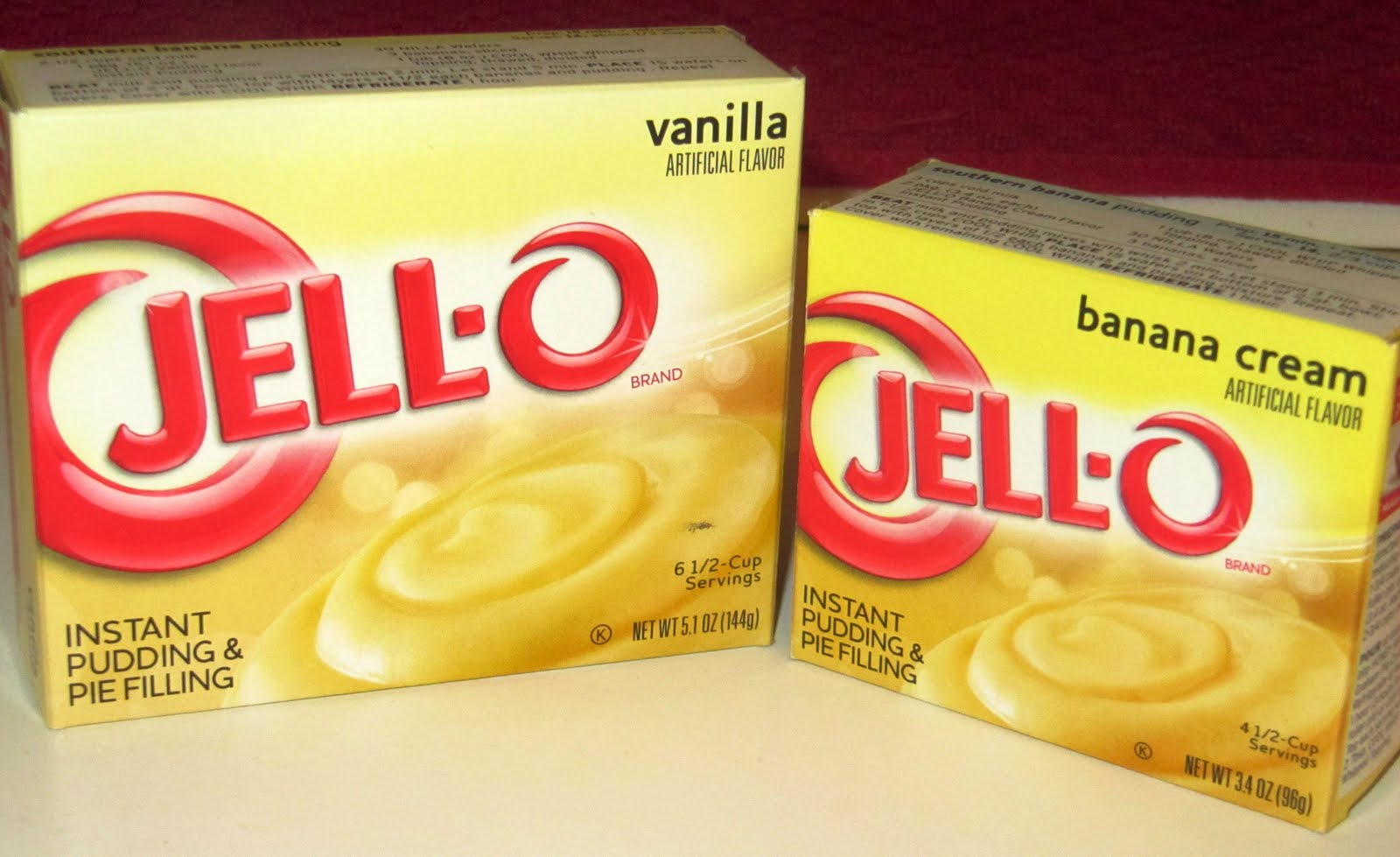 Jello Instant Pudding Cake Filling