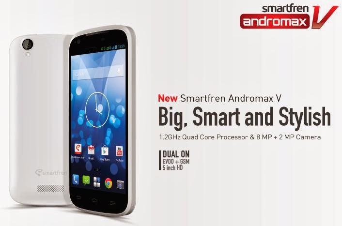 Harga Smartfren New Andromax V