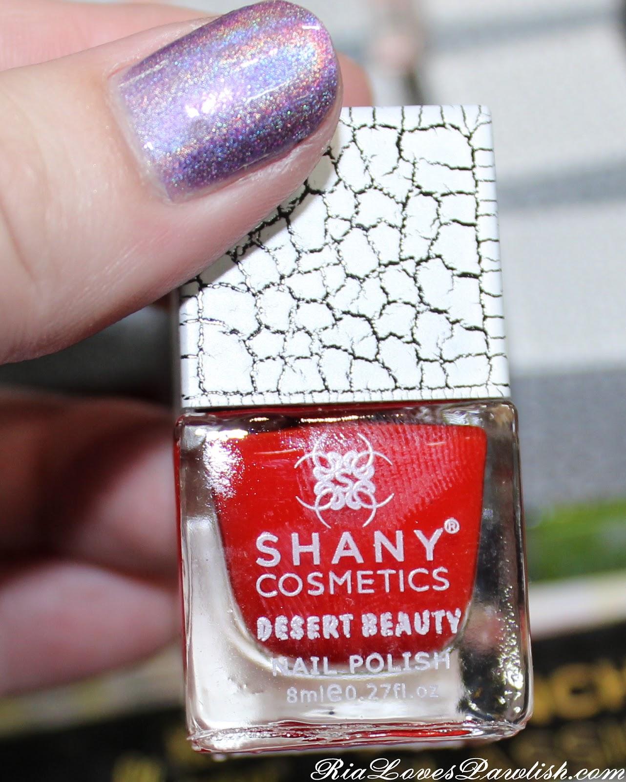 Ria Loves Pawlish: Cosmoprof 2012... Shany Cosmetics