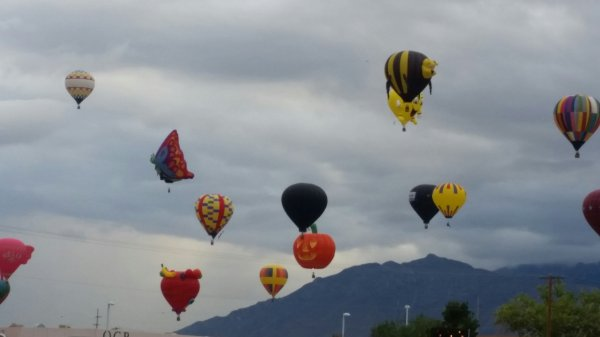 International Balloon Fiesta 1